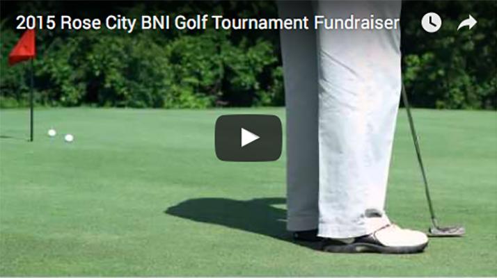 2015 BNI Rose City Tournament