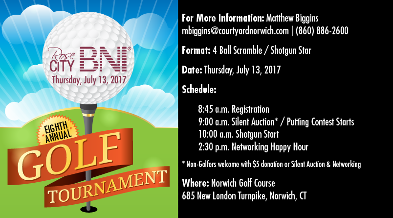 2017 Golf Scholarship Tournament