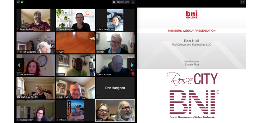 BNI Video Meeting